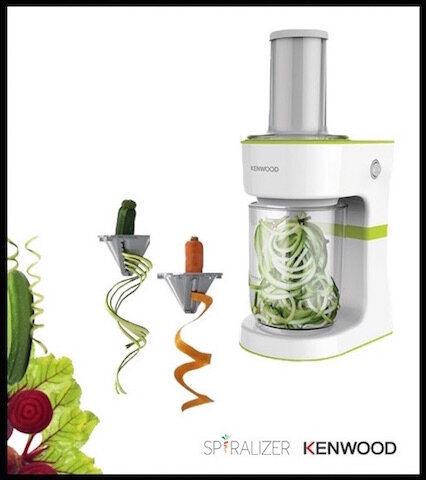 kenwood spiralizer 1