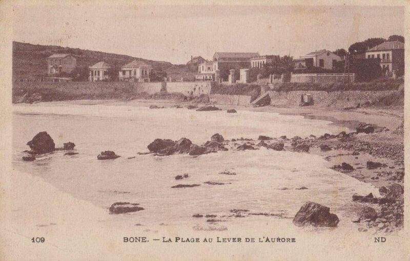 CPA Bône la plage