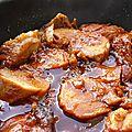 Filet mignon de porc à l'orange et au gingembre