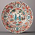 Zhangzhou 'Swatow' Dish, China, Ming Dynasty (1368-1644), 1600-1630