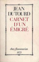 carnet-d-un-emigre-de-jean-dutourd-1105854246_L