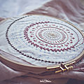 Broderie et tricot....