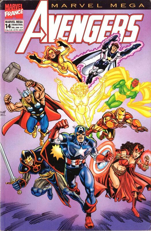 marvel mega 14 avengers