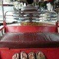 Nos pieds dans 1 tuktuk, Phnom Penh, Cambodge