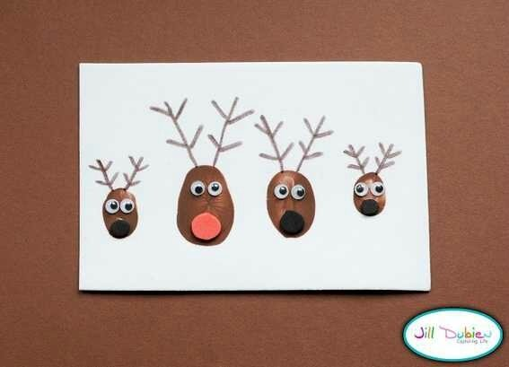 thumbprint-reindeer