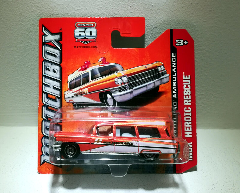 Cadillac Ambulance de 1963 (Matchbox) 02