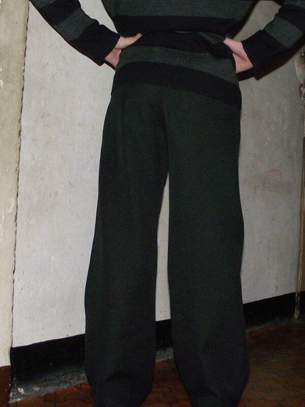Pantalon noir 2 Burda 9781