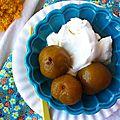 Reine-claudes confites au sirop, le sucre comme pérénité du fruit