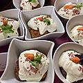 Muffins aux carottes à ma façon