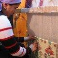 Atelier artisanal de tissage
