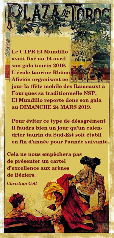 report gala annonce