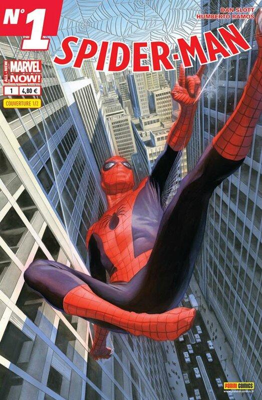 spiderman V5 01 cover 2