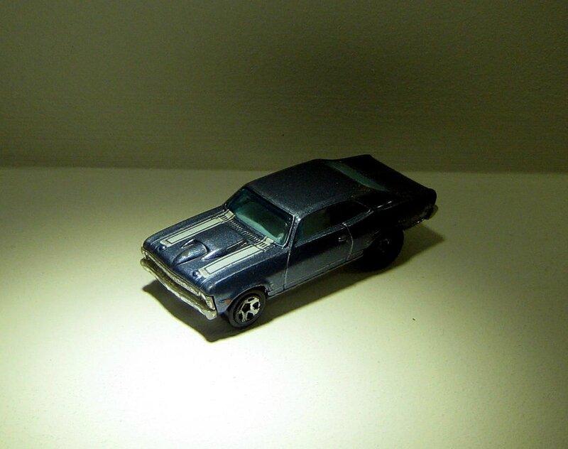 Chevrolet chevy nova de 1968 (Hotwheels)
