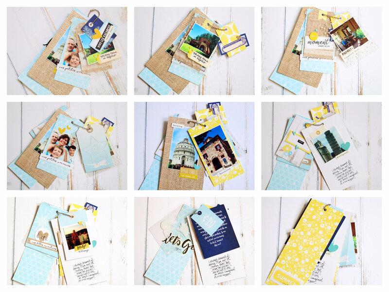 Mini collage