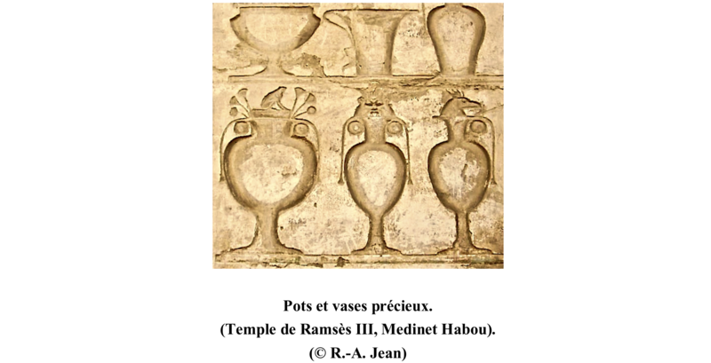 Vases et Pots Medinet Habou - Longue