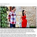 Clémence Caruana / Marc Le Dizet - ALBAS Août 2014