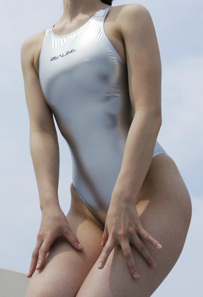 N-008 sh Rubber Competition Swimsuit Realise Side 1