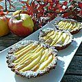 Tartelettes suisses aux pommes