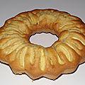 Gâteau aux pommes et huile de noix