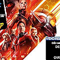 Soirée movie and draw antman and the wasp !