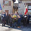 Commémoration du 11 novembre 1918 à saint-gence