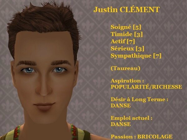 Justin CLEMENT