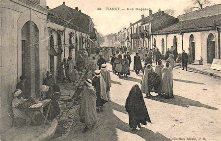 Tiaret rue Bugeaud cpa (2)