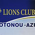 Benin: lions club cotonou-azur: le président joseph kiki-ouézé passe les pouvoirs à philippe lalèyè