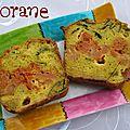 Cake au chou-fleur et mélisse