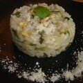 Risotto Courgette Pignon