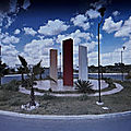 Rond-point à merida (mexique)