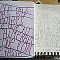 30 days of journaling : thème 9