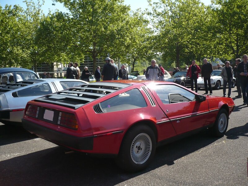 DELOREAN DMC-12 Strasbourg (2)