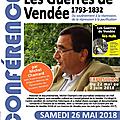 26 mai 2018 : conférence de michel chamard à aizenay