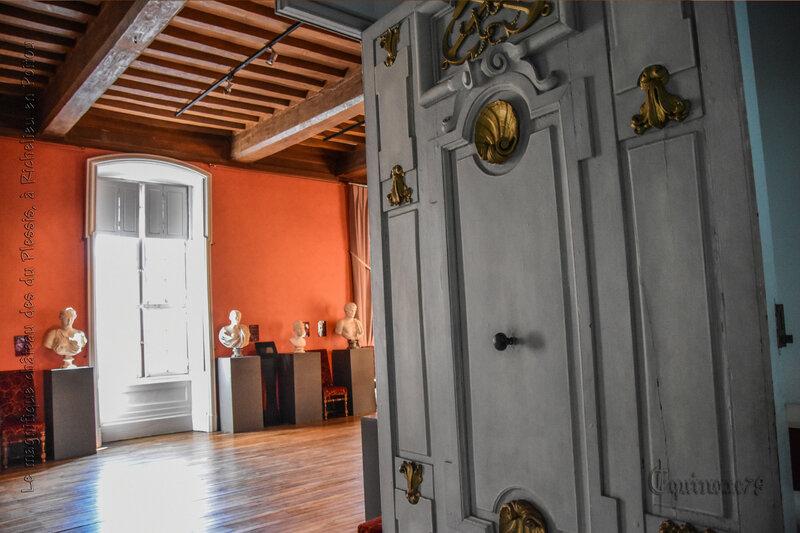 Le magnifique château des du Plessis, à Richelieu en Poitou (1)