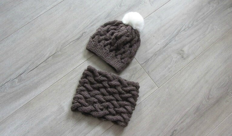 snood marron 3