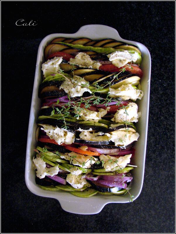 Tian de Légumes d'Eté au Brillat-Savarin 001