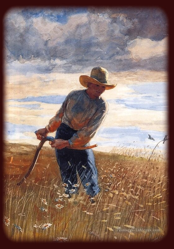 4-The-Reaper-Realism-painter-Winslow-Homer