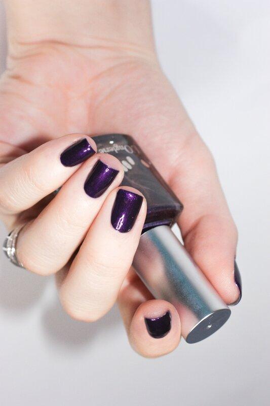 l'onglerie violet glam rock-3