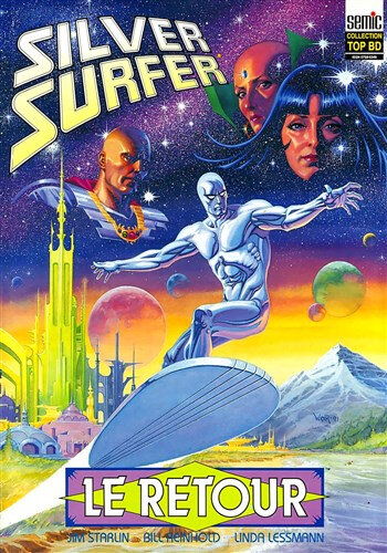 semic top BD 27 silver surfer le retour