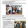 Santé : bilan d'un an de sensibilisation dans les écoles