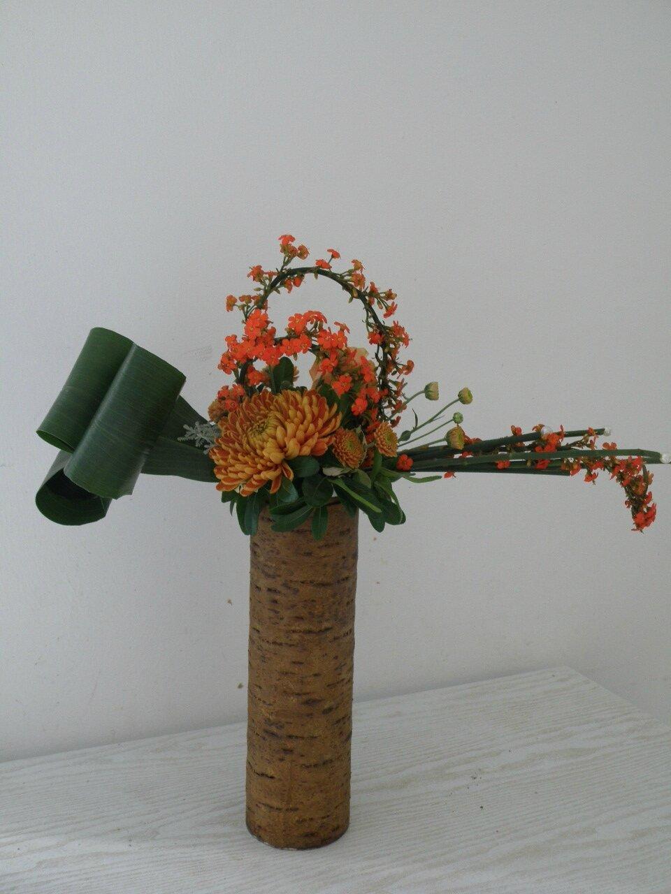 je reprends les publications des cours de décoration florale