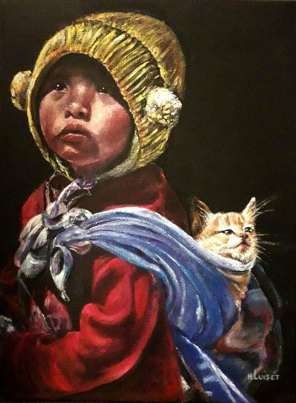 L'enfant au chat