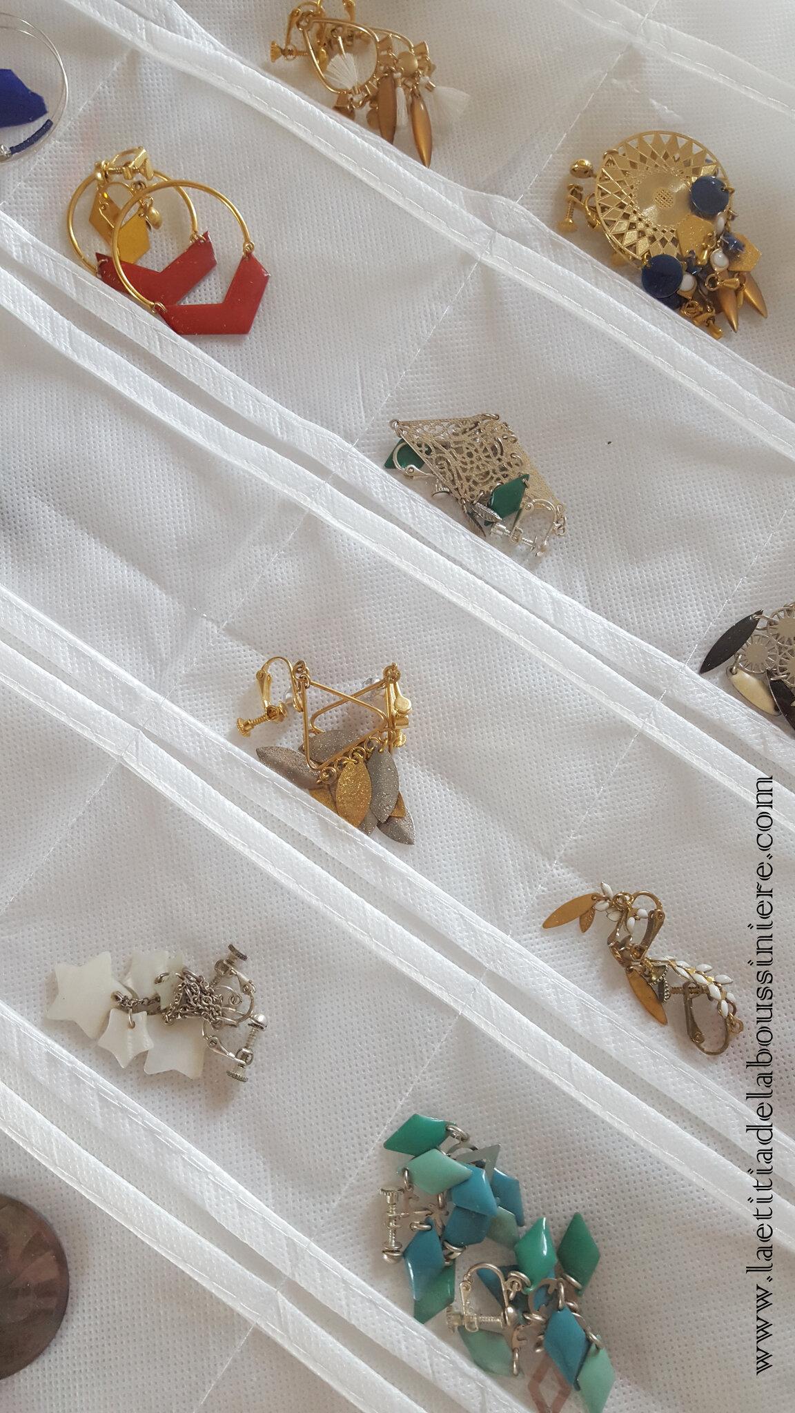 Pochette à bijoux (détails) - 14 €