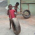 la course de pneu