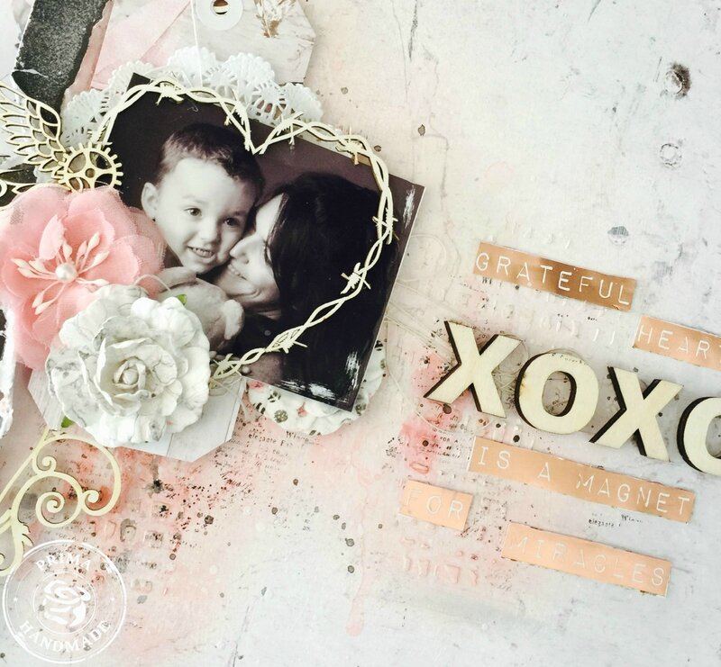 XOXO Layout 2 Rose Quart Nath