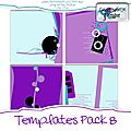 Template pack 8 - cocotounette designs