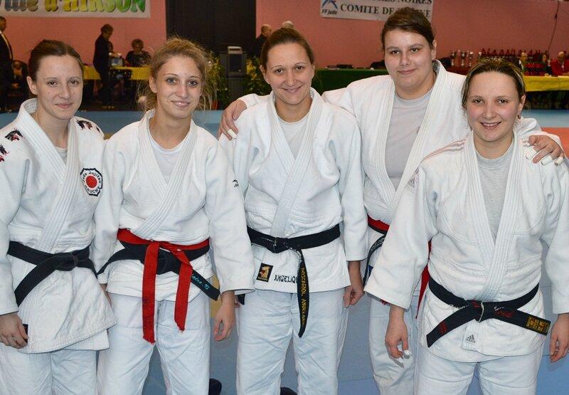 COUPE DES CEINTURES NOIRES 2015 féminines