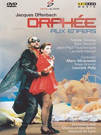 Orphee aux enfers dvd