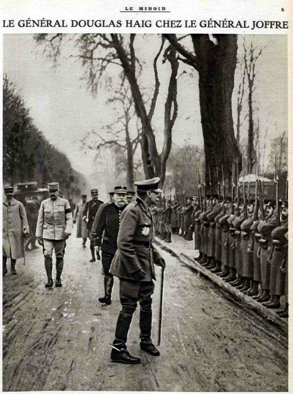 Haig le Miroir 09 01 1916